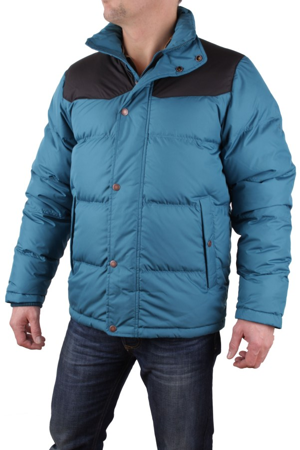 timberland herren winterjacke daunen goose eye petrol gr m tl540 ebay. Black Bedroom Furniture Sets. Home Design Ideas