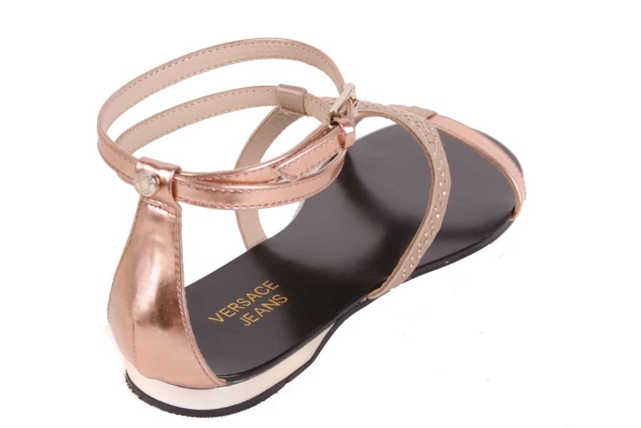 Popular Versace Collection Womens LSD424C LCSP LOC Sandals  Womenfashionbb